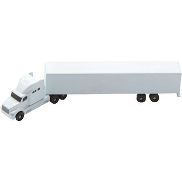 Promotional All Die Cast Conventional Sleeper With Trailer (1256 Scale)
