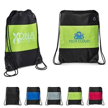 Promotional Microfiber String Backpack
