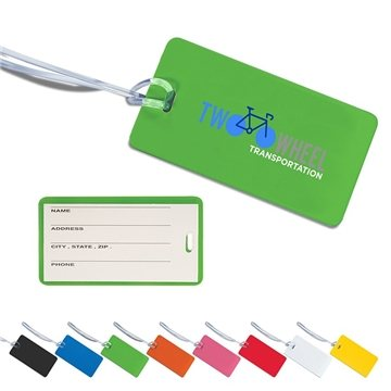 Promotional Hi - Flyer Luggage Tag