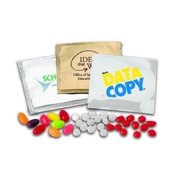 Promotional Teany Custom Candy Packets w / Teenee Beanee
