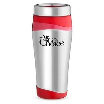 Promotional 16 oz Color Touch Stainless Tumbler