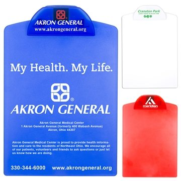 Promotional Letter Size Clipboard with Imprintable Clip
