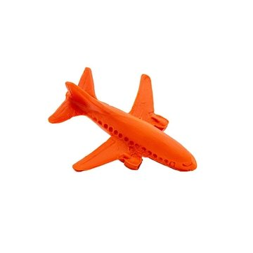 Promotional Pencil Top Stock Eraser - Airplane