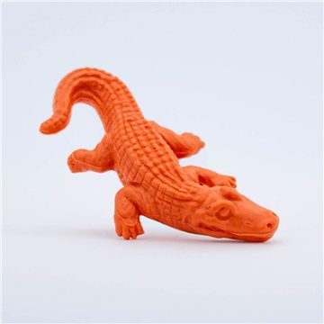 Promotional Pencil Top Stock Eraser - Alligator