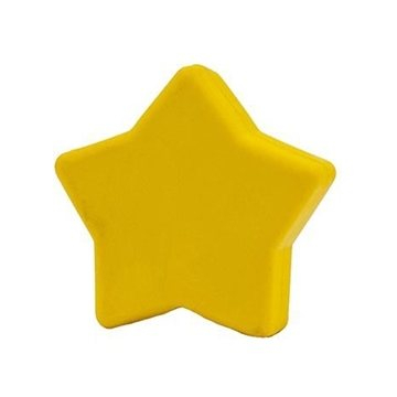 Promotional Pencil Top Stock Eraser - Stars, Assorted Colors