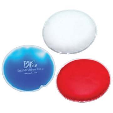 Promotional Oval Shaped Chill Patch Cold Pack