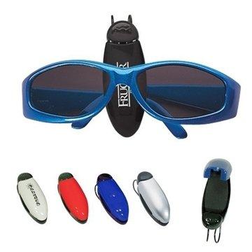 Promotional eyeglasssunglass-holder-clip