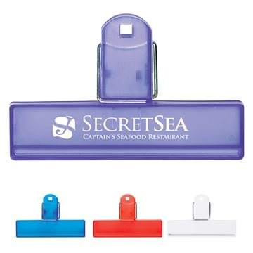 Promotional 4 Bag Clip