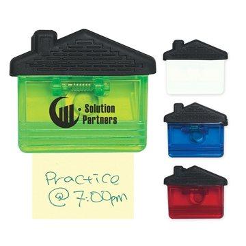 Promotional House Shape Clip