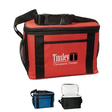 Promotional Custom Jumbo Kooler Bag - Polyester - 12 Cans