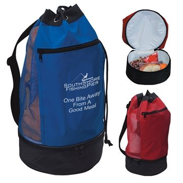 Promotional Beach Bag With Insulated Lower Compartment