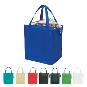 Promotional Non - Woven Insulated Shopper Tote Bag