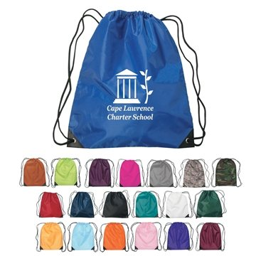 Promotional Custom Small Hit Drawstring Backpack -14 X 18