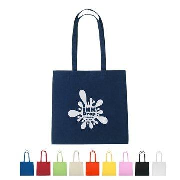 Promotional 100 Cotton Promotional Spot Clean Tote Bag - 15 X 15