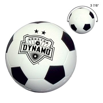 Promotional Soccer Ball Shape Stress Reliever