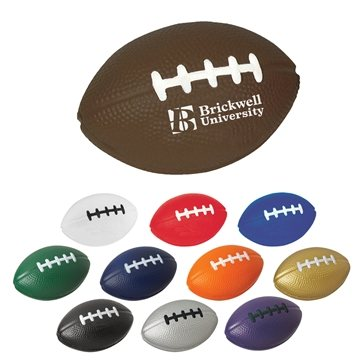Promotional Football Shape Stress Reliever