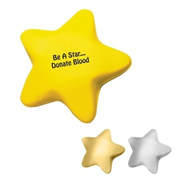 Promotional Star Shape Stress Reliever