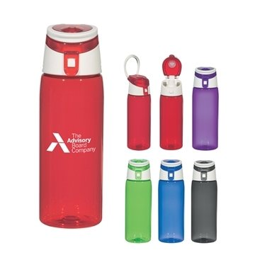 Promotional 24 oz Flip Top Sports Bottle