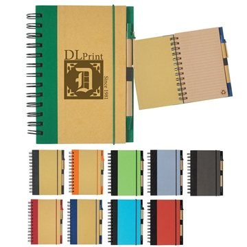 Promotional Mini Spiral Notebook