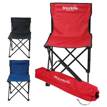Promotional Price Buster Folding Chair With Carrying Bag
