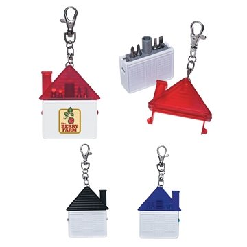 Promotional house-shape-tool-kit