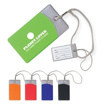 Promotional Vinyl Mod Luggage Tag