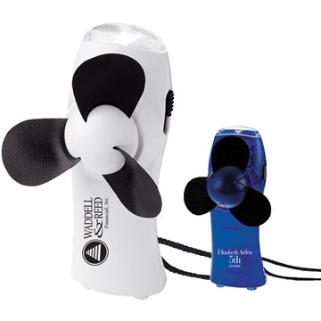 Promotional Turbo Mini Fan / Flashlight