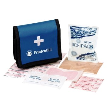 Promotional First Aid Kit W / Vecro Case