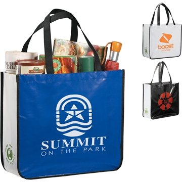 Promotional Laminated Non - Woven Large Shopper Tote