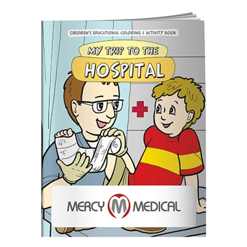 Promotional Coloring Book My Trip to the Hospital