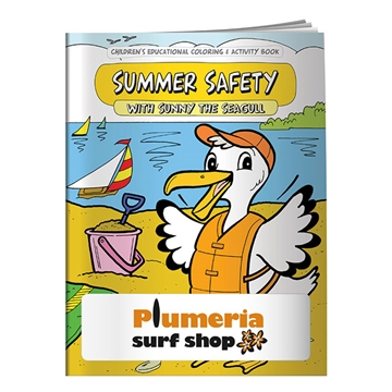 Promotional Coloring Book Summer Safety