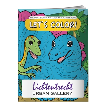 Promotional Coloring Book Lets Color
