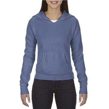 Promotional Comfort Colors 10 oz Garment - Dyed Front - Slit Pullover Hood