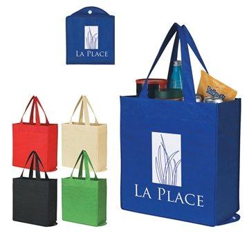 Promotional Non - Woven Foldable Shopper Tote