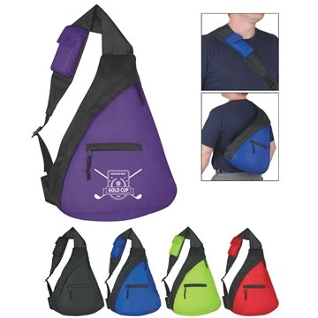 Promotional Budget Sling Backpack