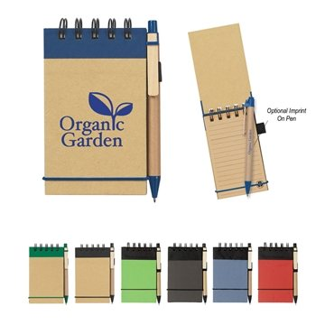 Promotional Eco - Friendly Spiral Jotter Pen