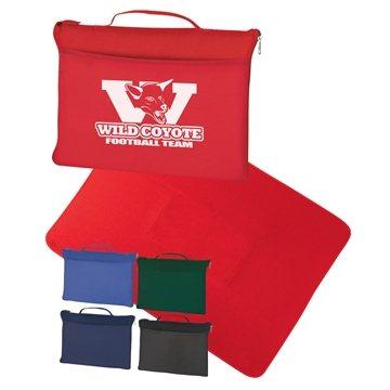 Promotional Polyester Fleece Blanket