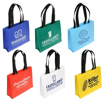 Promotional Raindance Waterproof Coated Tote Bag