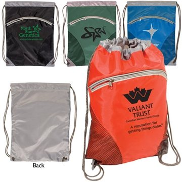 Promotional Zip Pouch String - A - Sling