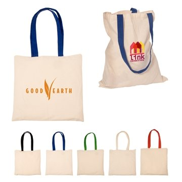 Promotional Econo Cotton Tote - 4 Oz. Cotton