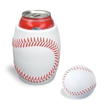Promotional Baseball In Can Holder Combo