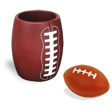 Promotional Football In Can Holder Combo