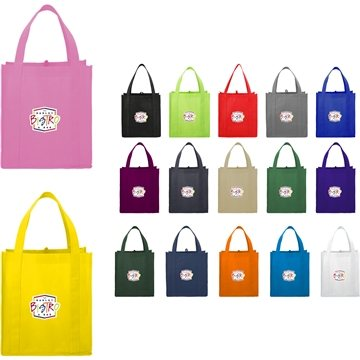 Promotional Non Woven Multi Color The Little Juno Grocery Tote Bag 12 X 13