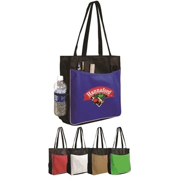 Promotional Non - Woven Business Tote Bag, Full Color Digital