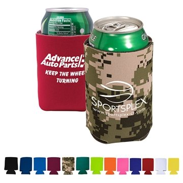 Promotional folding-can-cooler-sleeve