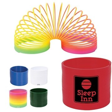 Promotional Plastic Round Spring Thing
