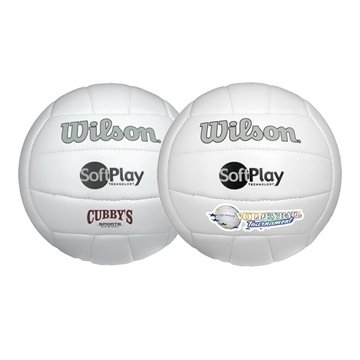 Promotional Wilson(R) Premium Synthetic Leather Volleyball