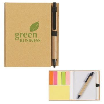 Promotional Eco - Friendly Notebook With Pen