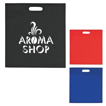 Promotional Large Heat Sealed Non - Woven Exhibition Tote