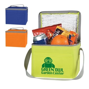 Promotional Non - Woven Six Pack Kooler Bag